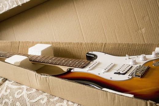 Shipping a Guitar