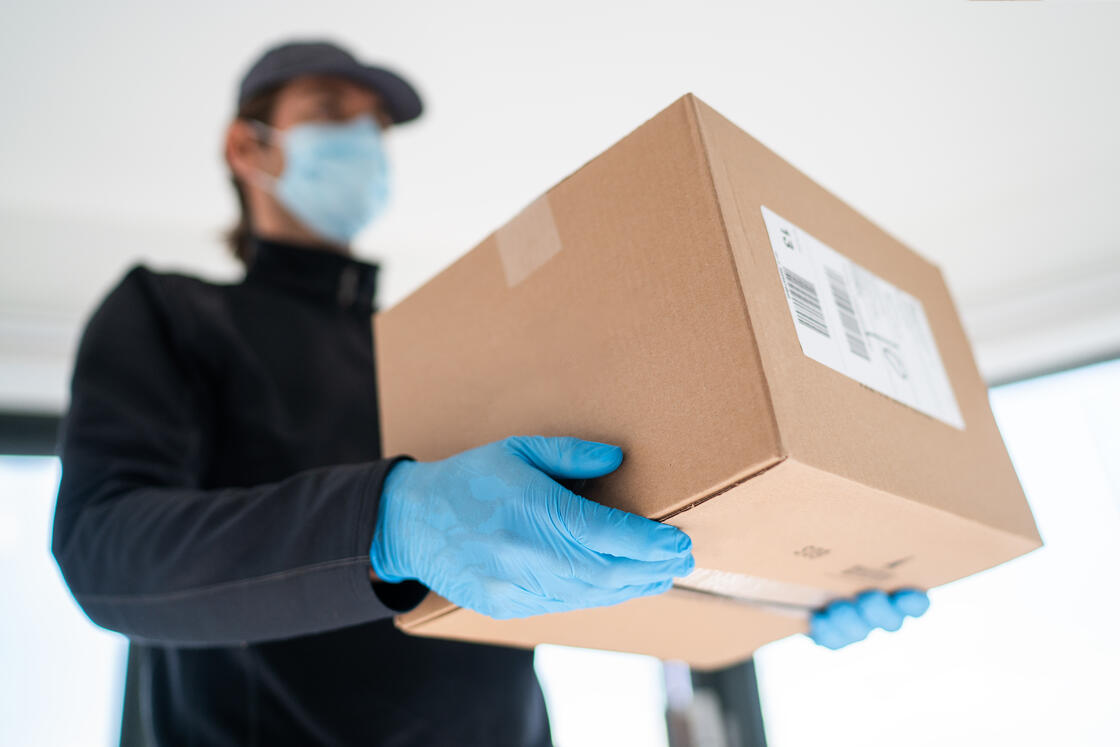 packaging and handling of shipment