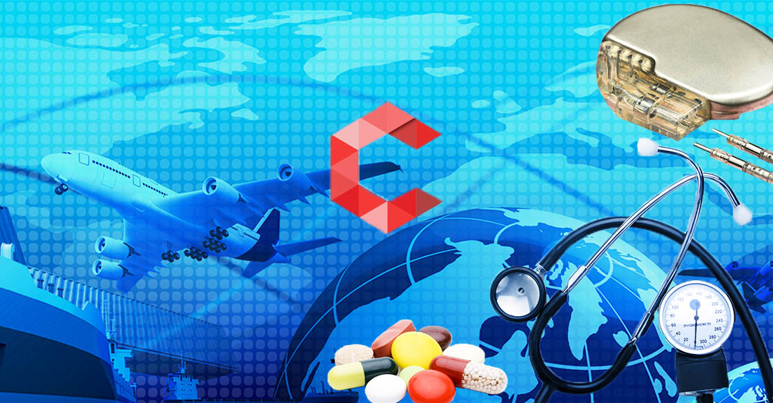 medical and pharmaceutical logistics process