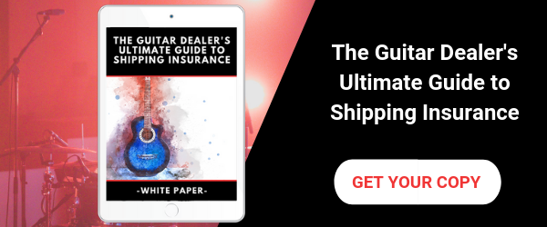 Download your free copy of The Guitar Dealer's Ultimate Guide to Shipping Insurance