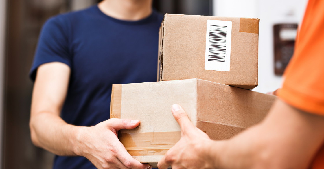 Parcel shipments getting delivered