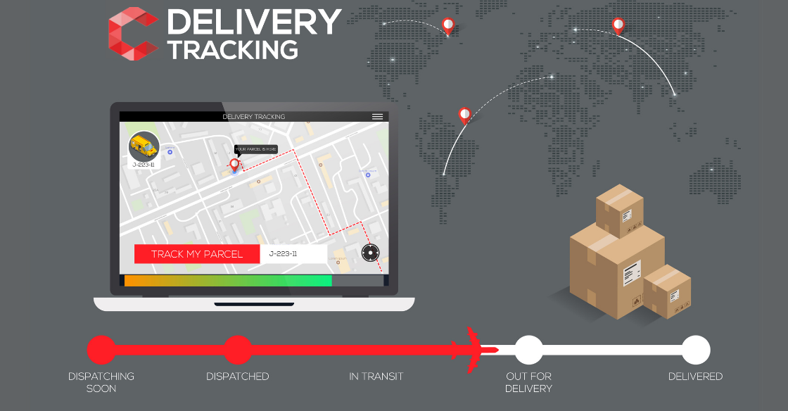 Package delivery tracking