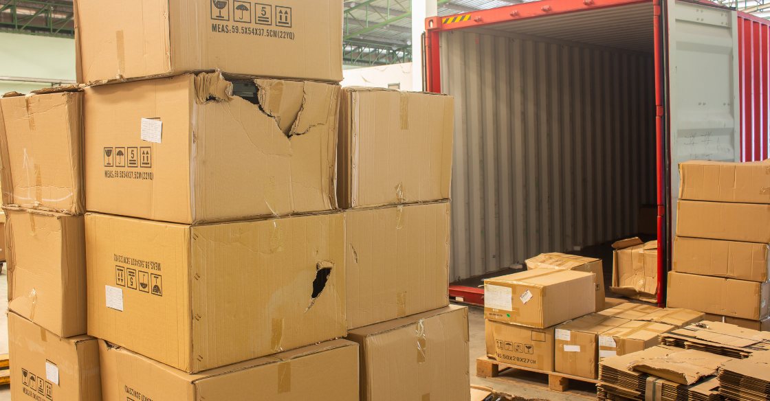 Damaged shipment